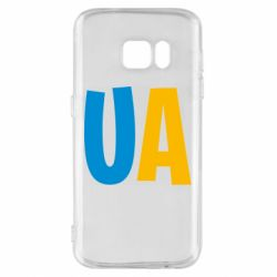 Чехол для Samsung S7 UA Blue and yellow
