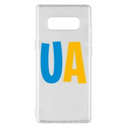 Чехол для Samsung Note 8 UA Blue and yellow