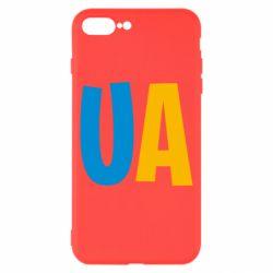 Чехол для iPhone 8 Plus UA Blue and yellow