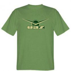 Мужская футболка UAZ Лого - FatLine