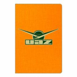 Блокнот А5 UAZ Лого
