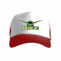 Дитяча кепка-тракер UAZ Лого