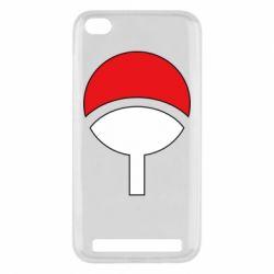 Чехол для Xiaomi Redmi 5a Uchiha symbol