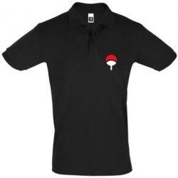 Мужская футболка поло Uchiha symbol