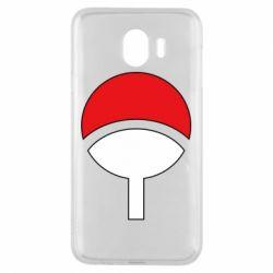 Чехол для Samsung J4 Uchiha symbol