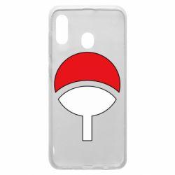 Чехол для Samsung A20 Uchiha symbol