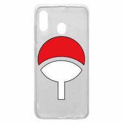 Чехол для Samsung A30 Uchiha symbol