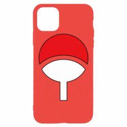 Чехол для iPhone 11 Pro Max Uchiha symbol