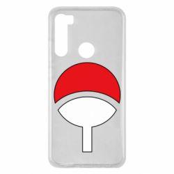 Чехол для Xiaomi Redmi Note 8 Uchiha symbol