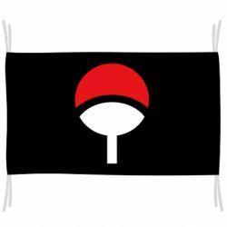 Флаг Uchiha symbol