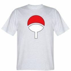 Мужская футболка Uchiha symbol