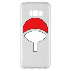 Чехол для Samsung S8+ Uchiha symbol