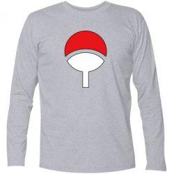 Футболка с длинным рукавом Uchiha symbol