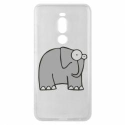 Чехол для Meizu Note 8 удивленный слон - FatLine