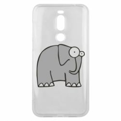 Чехол для Meizu X8 удивленный слон - FatLine