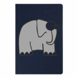 Блокнот А5 удивленный слон - FatLine