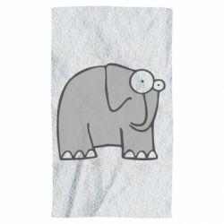 Полотенце удивленный слон - FatLine