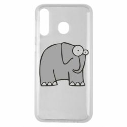Чехол для Samsung M30 удивленный слон