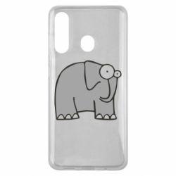 Чехол для Samsung M40 удивленный слон