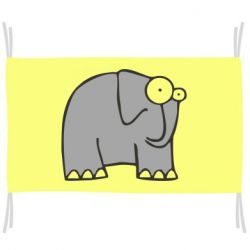 Флаг удивленный слон
