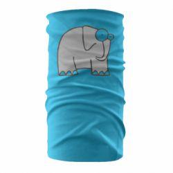 Бандана-труба удивленный слон