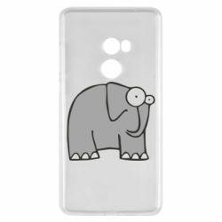 Чехол для Xiaomi Mi Mix 2 удивленный слон - FatLine