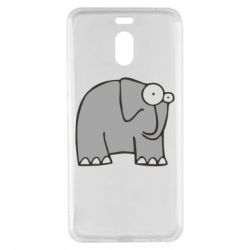 Чехол для Meizu M6 Note удивленный слон - FatLine