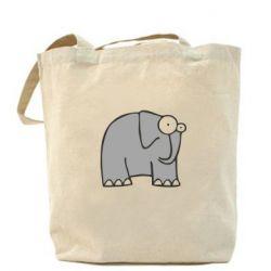 Сумка удивленный слон - FatLine