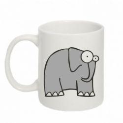 Кружка 320ml удивленный слон - FatLine