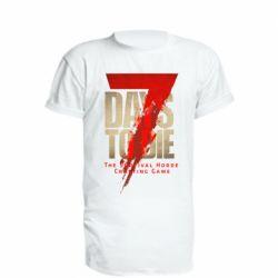 Подовжена футболка 7 Days To Die