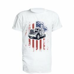 Подовжена футболка American Truck
