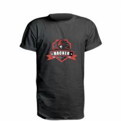 Подовжена футболка Anonymous Hacker