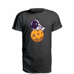 Подовжена футболка Chilling on the Moon