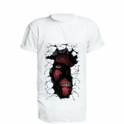 Подовжена футболка Colossal titan
