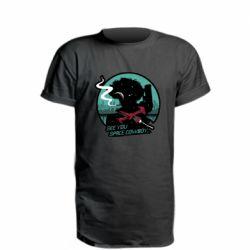 Удлиненная футболка Cowboy bebop