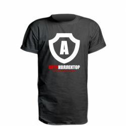 Подовжена футболка Форум Антиколлектор Лого Классика
