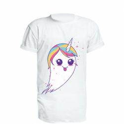 Подовжена футболка Ghost Unicorn