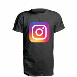 Подовжена футболка Instagram Logo Gradient