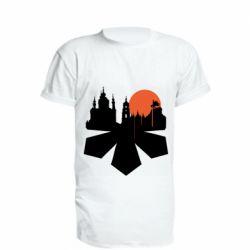 Подовжена футболка Kiev city of chestnuts