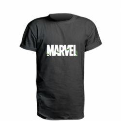 Удлиненная футболка Marvel logo and vine