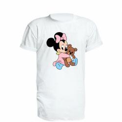 Подовжена футболка Minnie And Bear