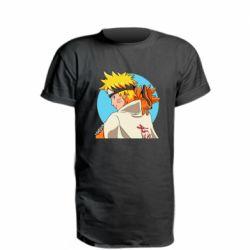 Подовжена футболка Naruto Uzumaki Hokage
