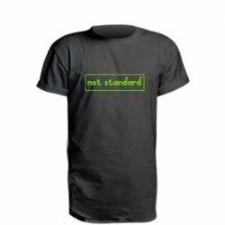 Подовжена футболка Not standard