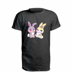 Подовжена футболка Rabbits In Love