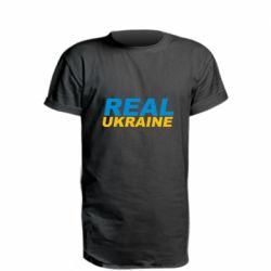 Удлиненная футболка Real Ukraine