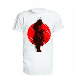 Подовжена футболка Samurai spray