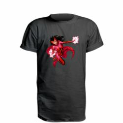 Подовжена футболка Scarlet Witch comic art