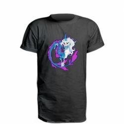 Подовжена футболка Sisu Dragon Art