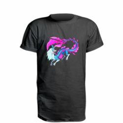 Подовжена футболка Sisu Water Dragon