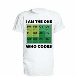 Подовжена футболка Сode  IT